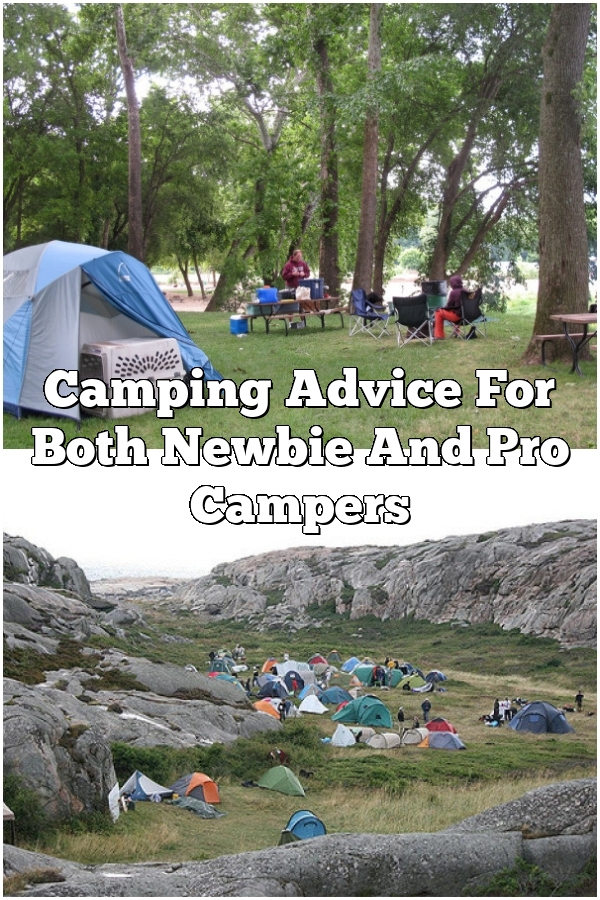 Camping Advice For Both Newbie And Pro Campers