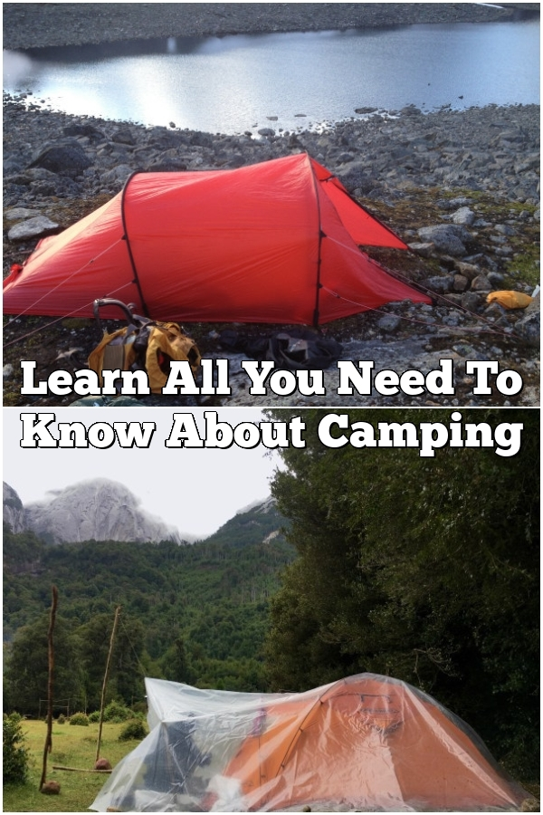 Learn All You Need To Know About Camping