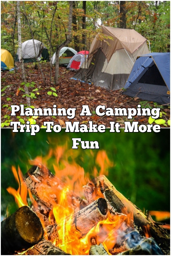Planning A Camping Trip To Make It More Fun