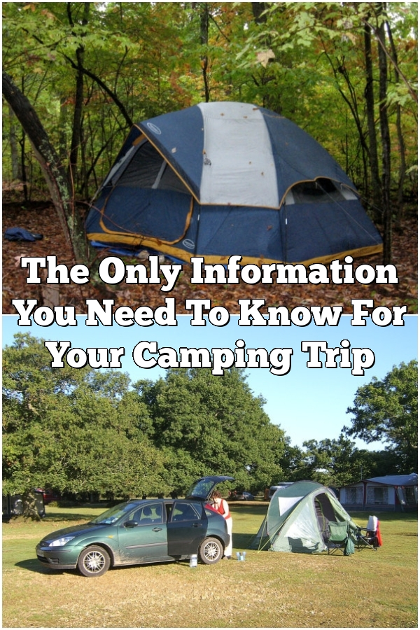 The Only Information You Need To Know For Your Camping Trip