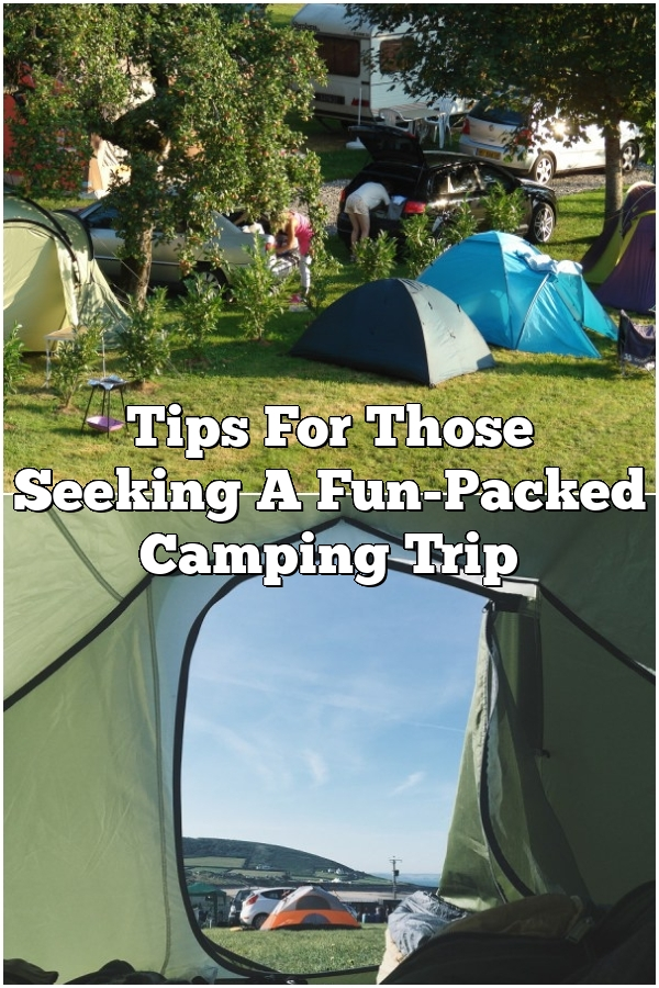 Tips For Those Seeking A Fun-Packed Camping Trip