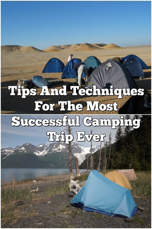 Tips And Techniques For The Most Successful Camping Trip Ever